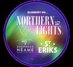 S:t Eriks Northern Lights beer
